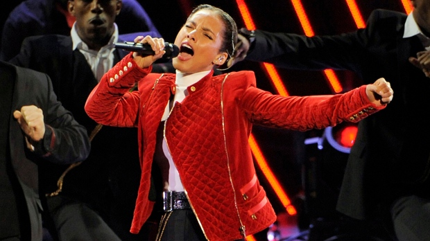 Alicia Keys U.S. national anthem Super Bowl