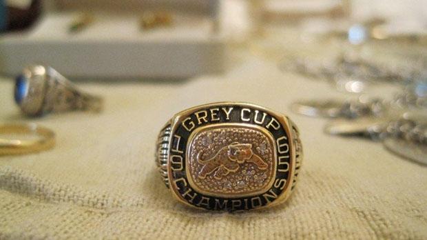 Stolen Grey Cup ring