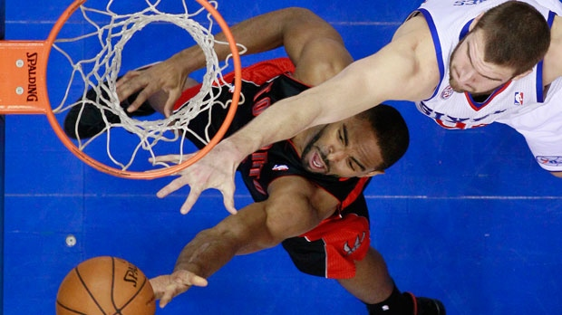 Toronto Raptors' Alan Anderson