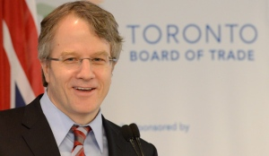 Ontario Liberal leadership candidate Gerard Kennedy delivers a speech to the Toronto Board of Trade in Toronto, Tuesday, Jan.8, 2013. THE CANADIAN PRESS/Frank Gunn