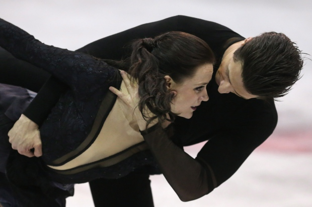 Tessa Virtue Scott Moir win fifth Canadian title