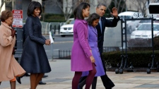 Barack Obama family presidential inauguration