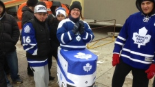 Toronto Maple Leafs home opener Buffalo Sabres