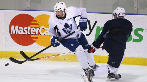 Joffrey Lupul long-term contract Maple Leafs