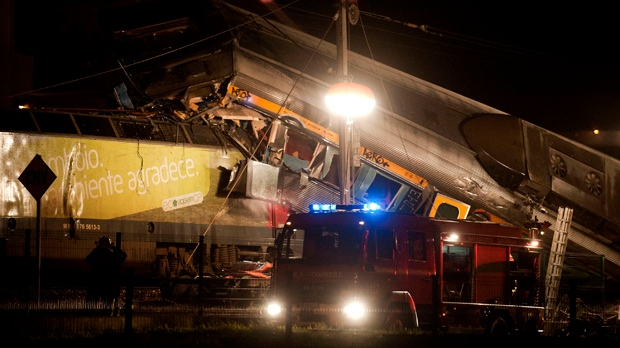Coimbra Portugal train crash