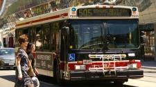 TTC bus file photo