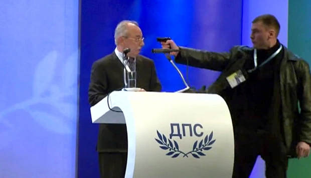Bulgaria attempted assassination