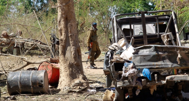 Mali, troops, executions