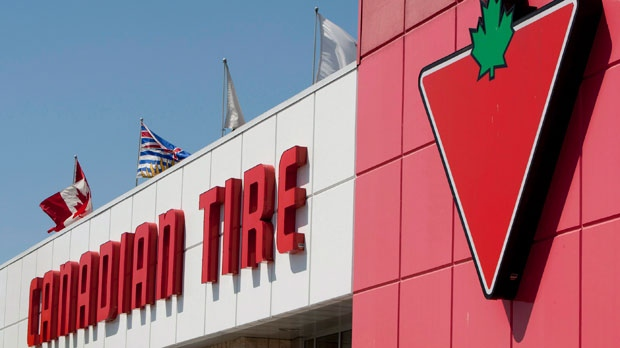 A Canadian Tire store is seen in North Vancouver, B.C., on Thursday, May 10, 2012. (The Canadian Press/Jonathan Hayward)