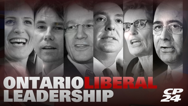 Slate for CP24 Ontario Liberal Leadership Coverage