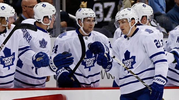 Toronto Maple Leafs left wing James van Riemsdyk