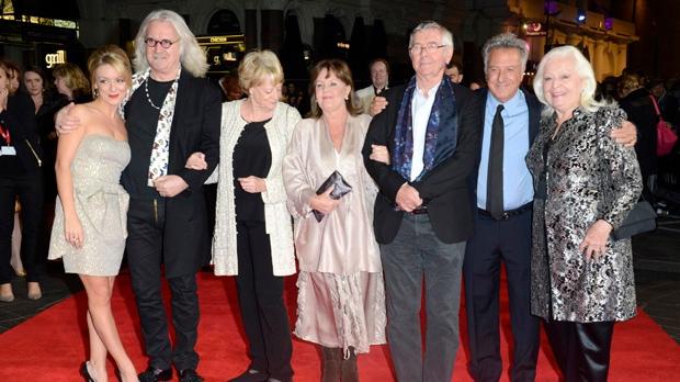 Quartet cast director Dustin Hoffman