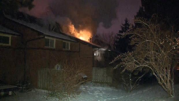 Fire, Esterbrooke Avenue, Blaze