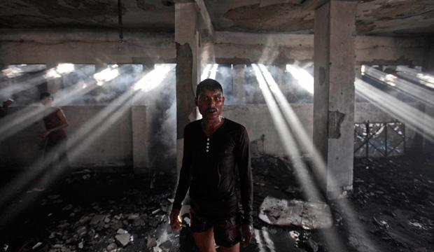 Bangladesh, factory fire, garment