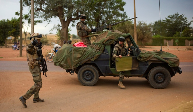 Mali, Gao, French Troops
