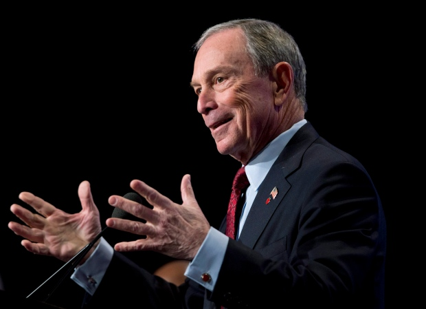 Michael Bloomberg donates $350 million