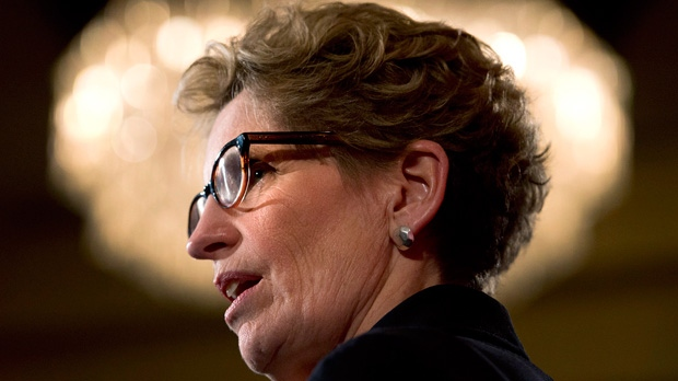 Wynne, liberal, openly gay, premier