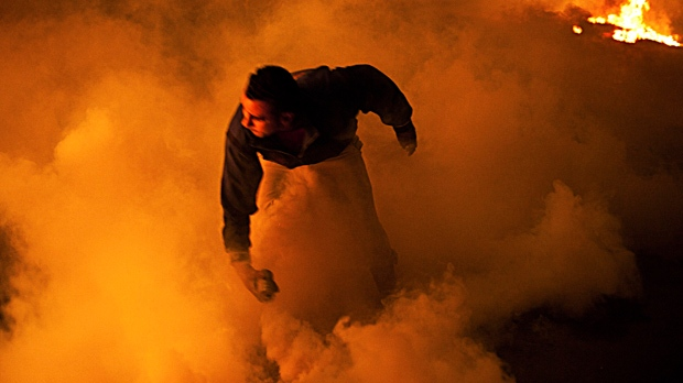 Cairo Egypt clashes unrest police protesters