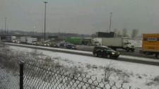Snow freezing rain Toronto GTA winter weather