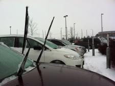 Snow, freezing rain affect GTA driving conditions