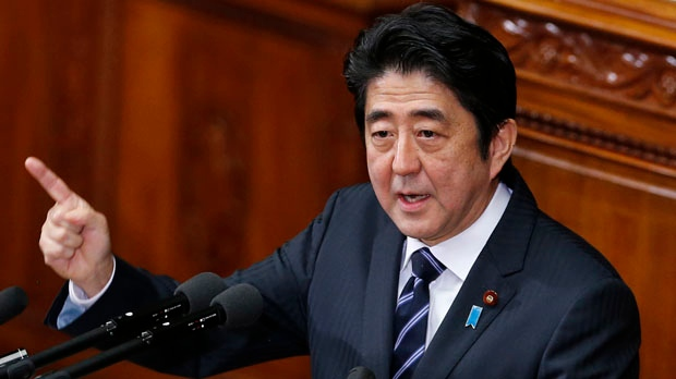 Japan Prime Minister Shinzo Abe North Korea