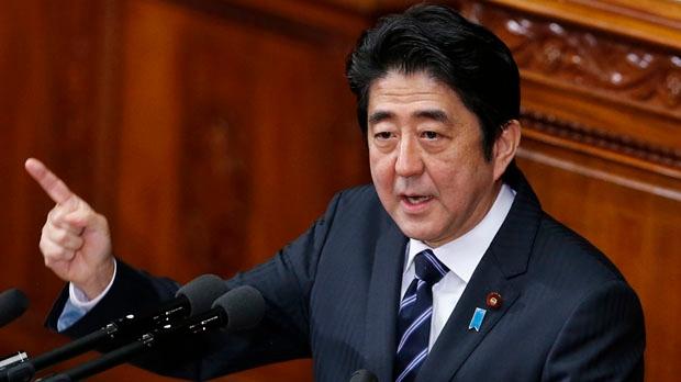 Japan Prime Minister Shinzo Abe North Korea