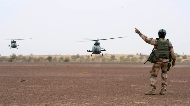 Canadian special forces in Mali France soldiers