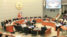 Markham city council meeting vote NHL size arena