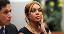 Lindsay Lohan, court, hearing, reckless driving