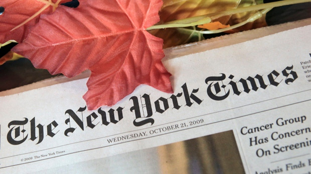 New York Times networks go down