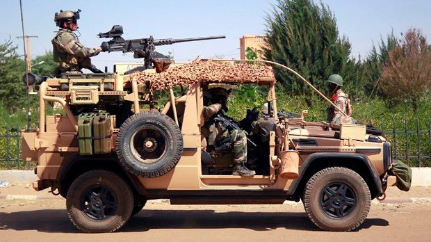 Mali France soldiers killed land mine blast