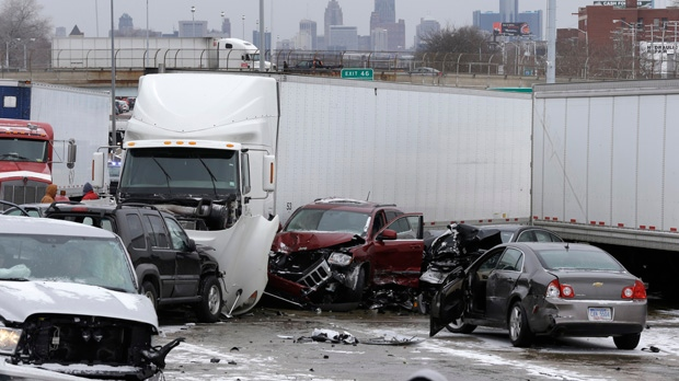 Detroit fatal crash Interstate 75