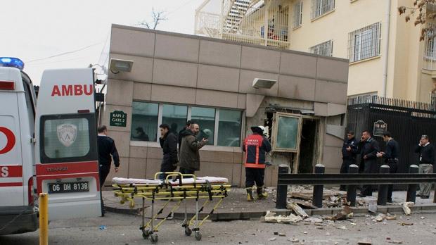U.S. Embassy suicide bombing Ankara Turkey