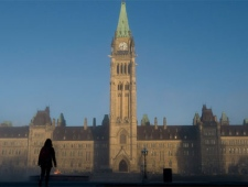 parliament hill, ottawa, cp24 stock