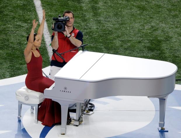 Alicia Keys Super Bowl