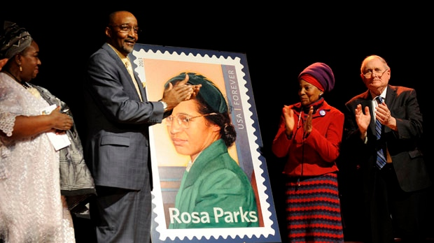 U.S. Postal Service special Rosa Parks stamp