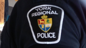 A York Regional Police badge in seen in this file photo. (Mathew Reid/CP24)