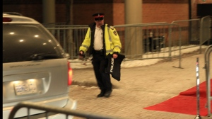 Police in York Region raided a banquet hall in Markham on Feb. 3, breaking up what they say was an illegal gambling ring. Six people were arrested during the Super Bowl party at Le Parc banquet facility. (Tom Stefanac/CP24)