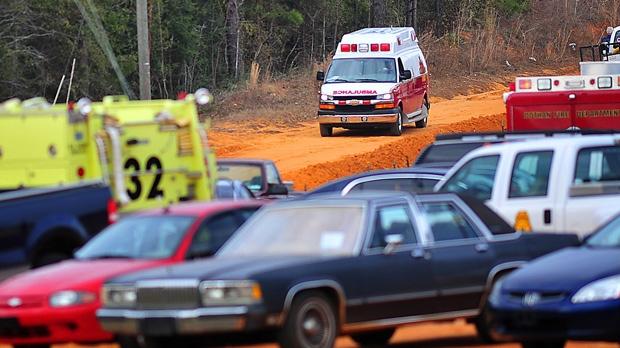 Midland City Alabama hostage standoff bunker