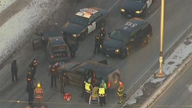 Brampton police pursuit crash Dixie Clark