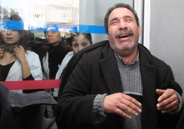 Chokri Belaid assassinated Tunis Tunisia