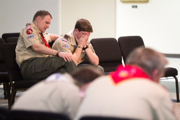 Boy Scouts of America vote policy gay members