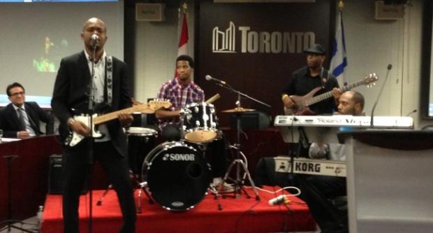 Barrett Brackin and the Band, bob marley day,