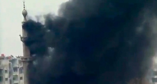 Damascus, attack, battle
