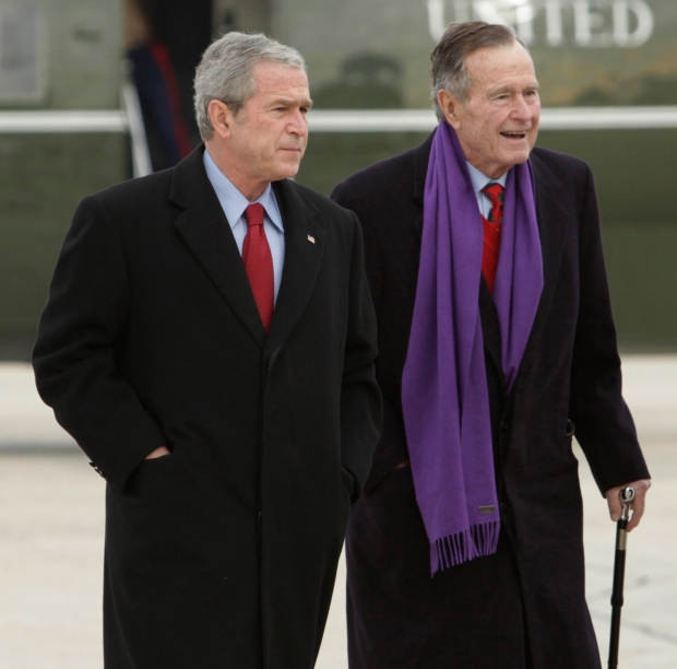 George H.W. Bush photos emails hacked