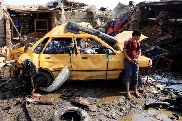 Baghdad Iraq car bomb