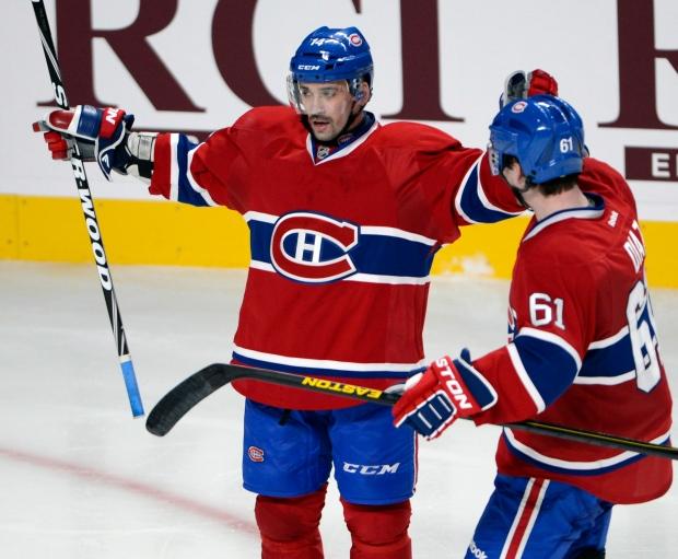 Montreal Canadiens center Tomas Plekanec