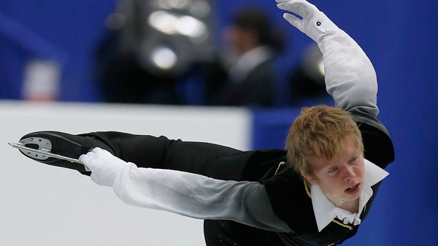 Kevin Reynolds, figure skating, four continenets