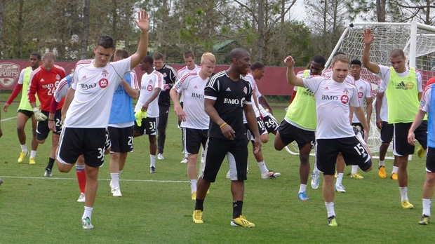 Toronto FC, taylor morgan, training camp
