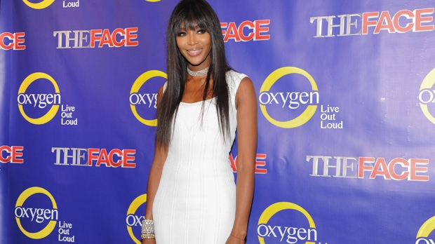 Naomi Campbell, the face, MuchMusic